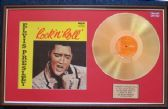 Elvis Presley - 24 Carat Gold Disc and Cover - Rock 'Roll